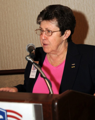 Connecticut Commissioner of Veterans Affairs Linda Schwartz